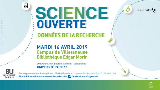 Science ouverte Paris 13